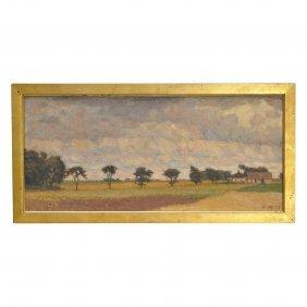 ANDERS TRULSON (1874-1911), Olja P� Duk