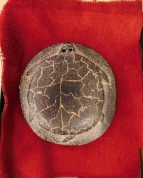 Turtle Effigy Pendant