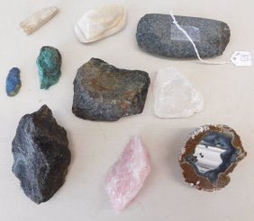 Collection Of 10 Relics & Minerals