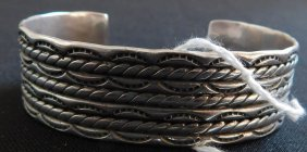 Navajo Sterling Silver Bracelet