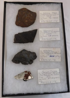 Collection Of Meteorite Display