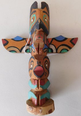 Old Nwc Totem Pole