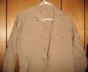 Plain Tan US Military Shirt