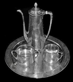 Rare Tiffany & Co. Silver Demitasse Set(1907-37)
