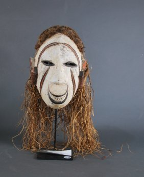 People Idoma Nigeria Ceremonial Dance Mask