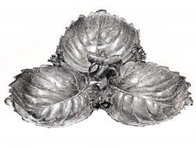 Large Buccellati Silver Serving Tray