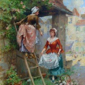 Henri Victor Lesur (France 1863-1900)
