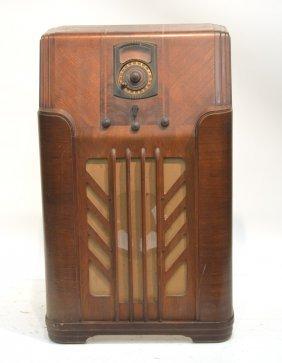 Deco Philco Console Radio Model 38 2 Lot 44
