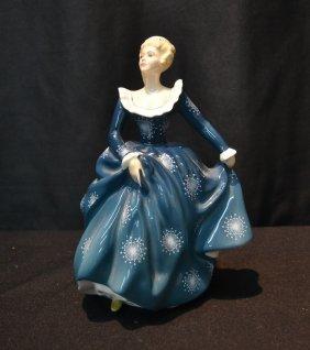"Royal Doulton ""fragrance"" Figurine - 8"""
