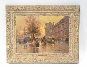Edouard Leon Cortes (1882 - 1969 ) Oil On Canvas