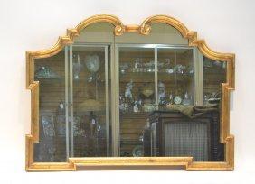 "Gilt Wood Mantle Mirror - 42"" X 32"""