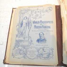 Wordls Masterpieces Of Modern Painting Book