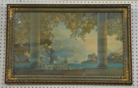 "Maxfield Parrish ""daybreak"" Print"