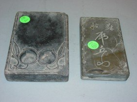 Two Antique Ink Stones