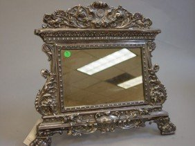 A Sterling Silver Mirror