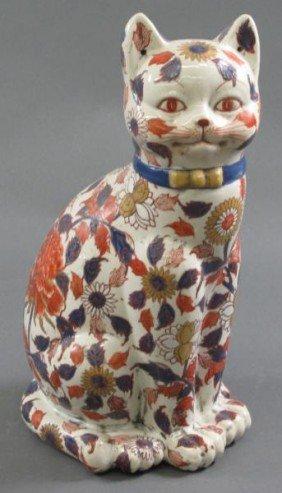 400 Japanese Imari Porcelain Cat Lot 400