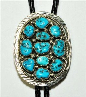 Navajo Sleeping Beauty Turquoise Sterling Silver B
