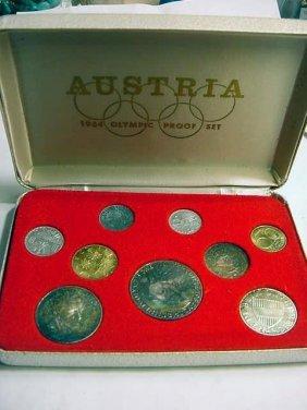 1964 AUSTRIA OLYMPIC PROOF SET