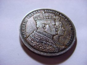 1861 PRUSSIA THALER SILVER COIN