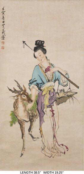 An Album Of Floral And Avian Motif