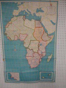 Vintage African Missionary Map
