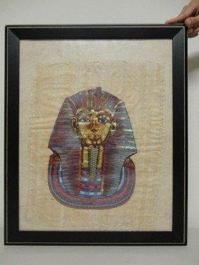 Egyptian Pharao Painting