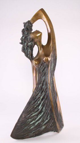 A. Fiorere, Signed By Artist #4/50, Bronze Sculpture Of