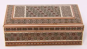 Fine Antique Syrian Inlaid Hand Made Marquetry Micro