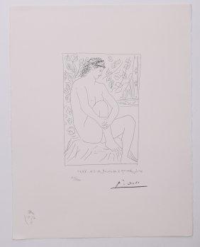 Pablo Picasso (1881-1973), Vollard Suite Planche Iv Lit