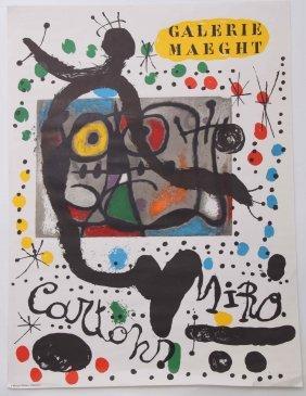 "Joan Miro [after] (spanish, 1893 - 1983). ""galerie Maeg"