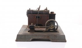 Antique 1916-1930 Marklin Steam Toys Horizontal Steam E