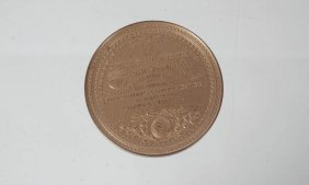 Rare American Medal Of March 1867