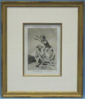Francisco De Goya (1746-1828), Los Caprichos #67