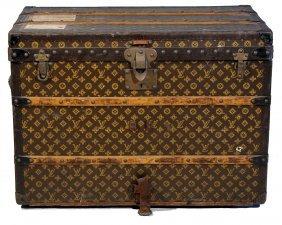 Louis Vuitton Medium Sized Steamer Trunk