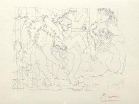 Pablo PICASSO; Suite Vollard; Le Repos Du Sculpteur