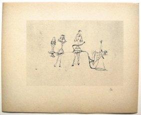 Paul KLEE; Original Lithograph, 1934