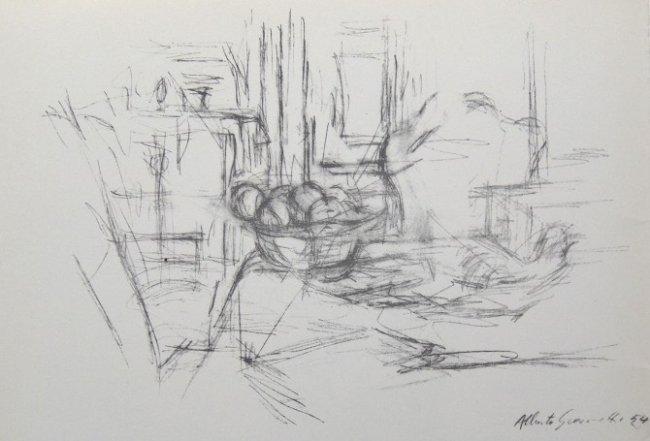 Alberto giacometti original lithograph derriere le lot 65 for Giacometti derriere le miroir