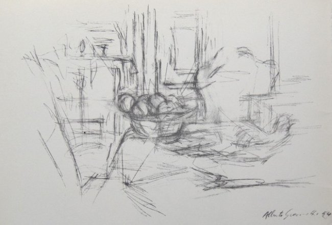 Alberto giacometti original lithograph derriere le lot 61 for Derriere le miroir giacometti