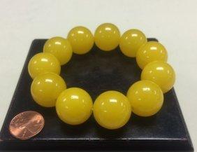 Golden Tian-huang Stone Bracelet