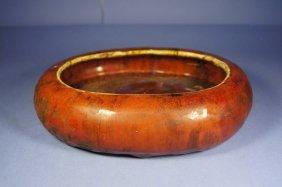 Chinese Antique Monochrome Glazed Bowl