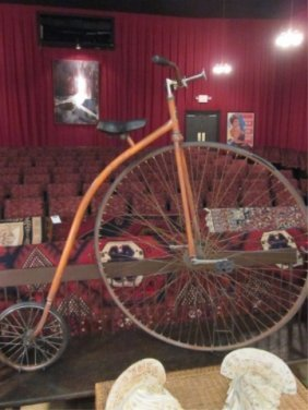 BONESHAKER REPRODUCTION ANTIQUE HIGH WHEEL BICYCLE