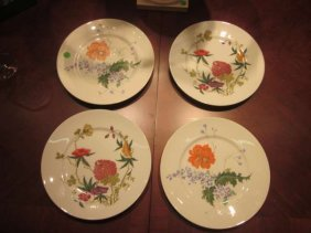 FOUR A. RAYNAUD & CO. LIMOGES FRANCE PLATES, APPROX