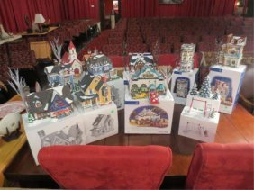 LARGE COLLECTION OF DEPT. 56 HOLIDAY DECOR, INCLUDE