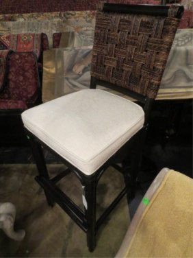 NEW NEVER USED DCOTA DESIGNER. RATTAN LOOK CHAIR,
