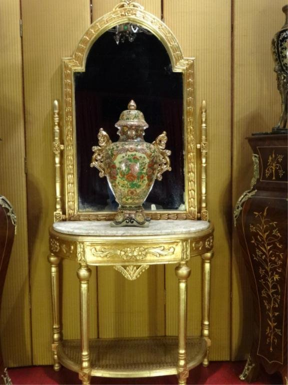 Gold Foyer Mirror : Moved permanently