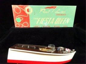 """Vintage 1950's Fleet Line """"fiesta Queen"""" Battery"""