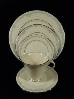 40 Pc Lenox Porcelain China Service For 8, Kingston