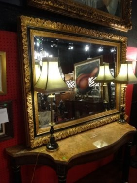 Large Giltwood Mirror, Excellent Gently Used Condition,