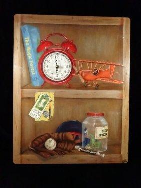 "Lexington Studios ""make Time For Play"" Wall Clock,"