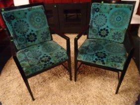 Pair Midcentury Modern Armchairs, 1950's/60's, Original